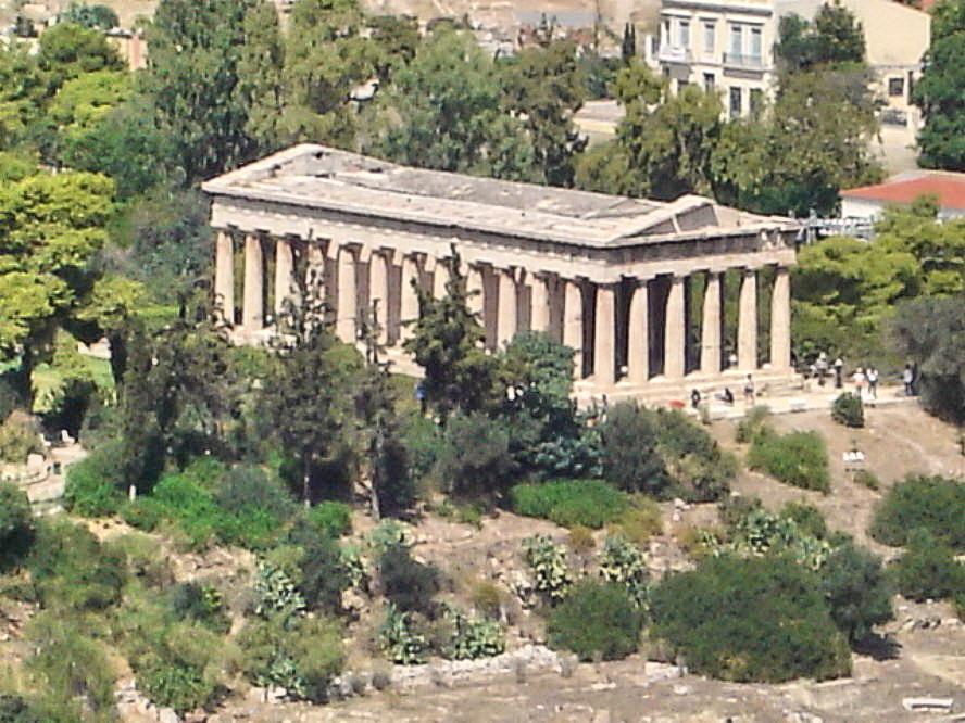 Il tempio di Efesto ad Atene