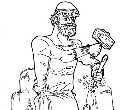 Efesto - Vulcano
