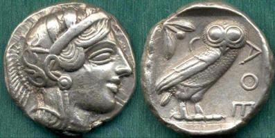 Civetta e Atena