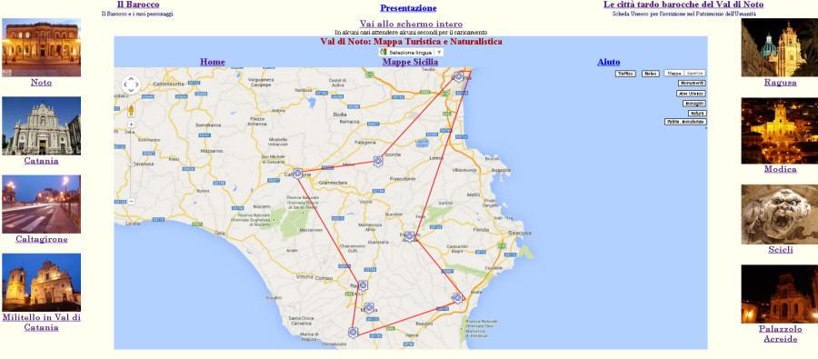 Cartina Noto Sicilia.Val Di Noto Non Solo Barocco
