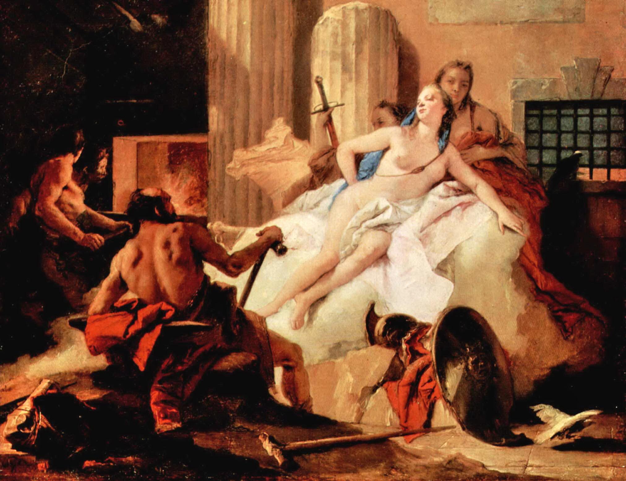Venere e Vulcano - Giovanni Battista Tiepolo - 1758-60
