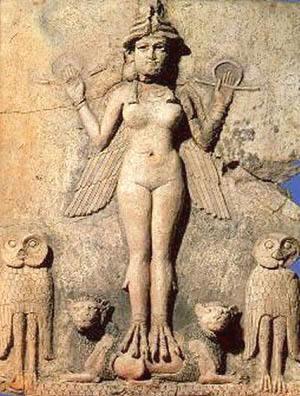 Antica rappresentazione di Ishtar