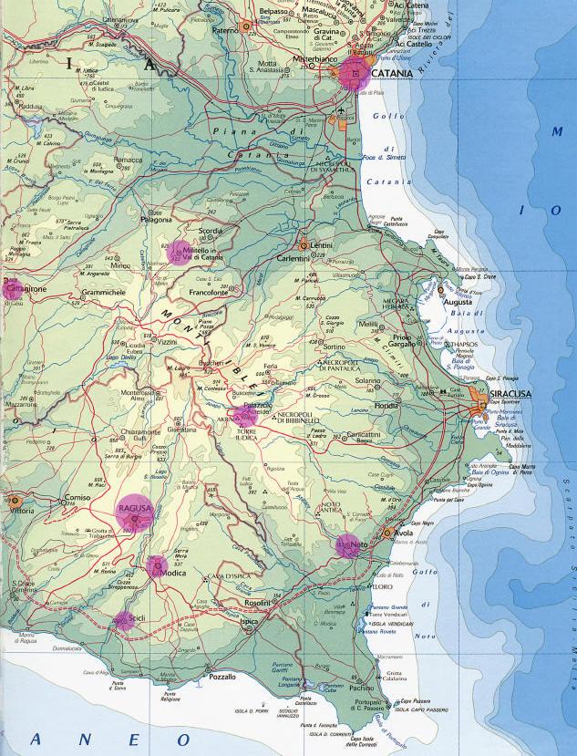Cartina Noto Sicilia.Scheda Le Citta Tardo Barocche Del Val Di Noto